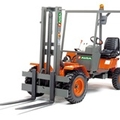 Picture Compact off-road and semi-industrial forklifts Ausa